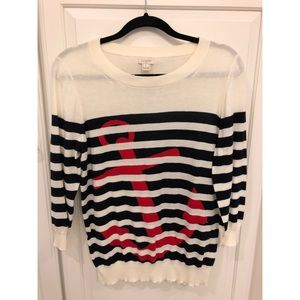 Nautical JCrew Sweater